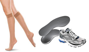 Custom Orthotics, Shoes and Stockings